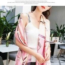 ★ Женский шарф из искусственного шелка  пляжный платок  весна  лето  осенний шарф  плед  пляжный плато