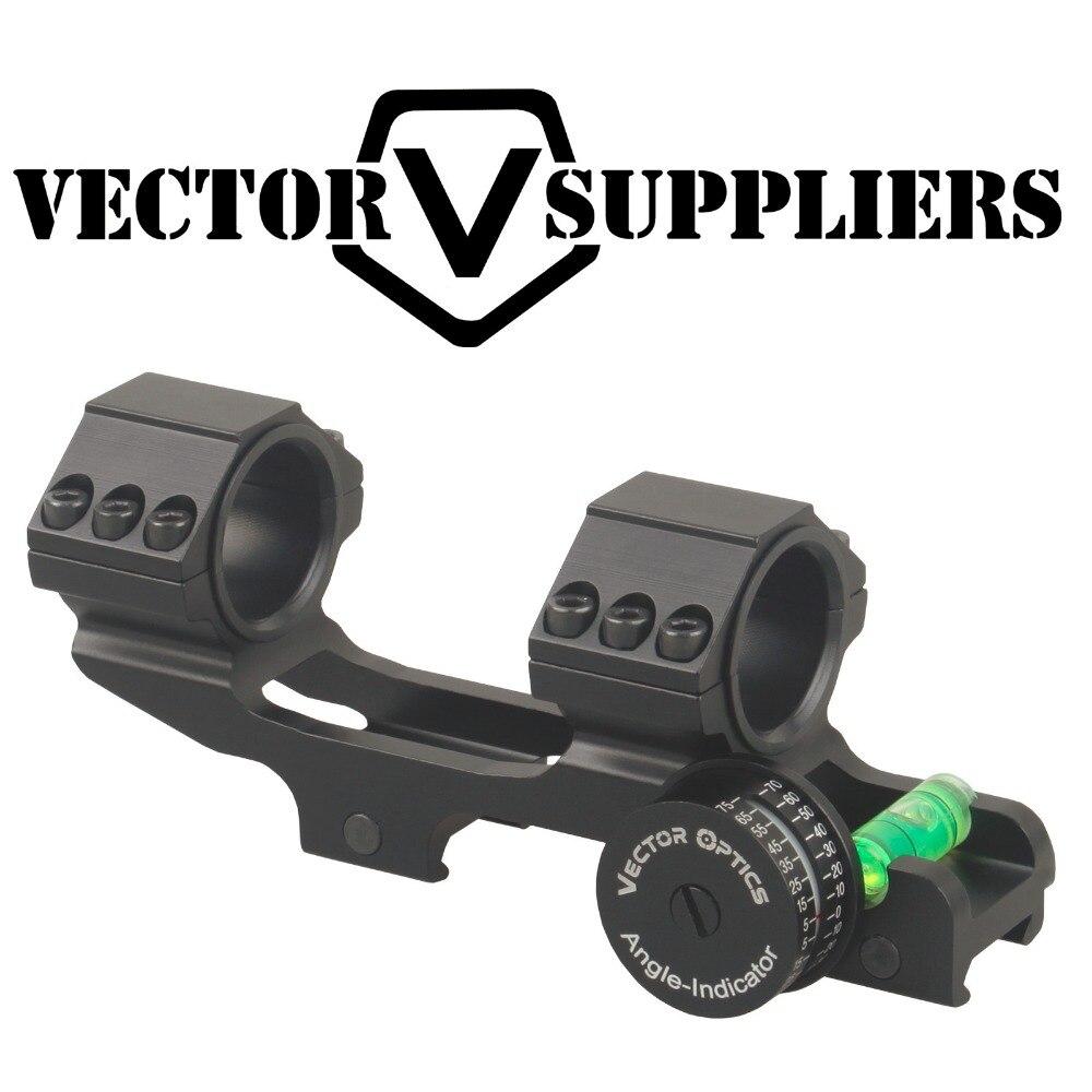 Vector Optics 30mm 1 Squelette D'angle D'une Seule Pièce Indicateur Niveau À Bulle ACD Montage Anneau Fusil De Précision Angle Cos
