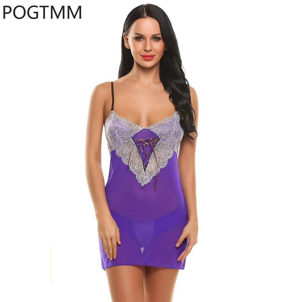 lingerie sexy quente low waist g string front lace up babydoll