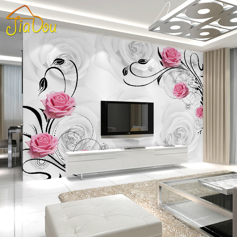 Bedroom Wallpaper Divisoria Bedroom Sitting Room Design Ideas Accent Wall Ideas For Small Bedroom Spiderman Bedroom Accessories: Aliexpress.com : Buy Custom Photo Wallpaper Large 3D