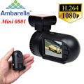 """1.5 """"Ambarella A2S60 Super Mini 0801 Full HD 1080 P Carro DVR Traço Cam Câmera De Vídeo Auto Registrator Camcorder Com GPS Logger"""