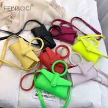 Candy colorful messenger bag women girls summer small mini E