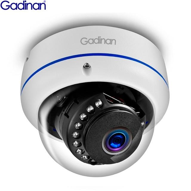 غادينان 5MP 3MP 2MP H.265 IP كاميرا مراقبة مراقبة الأشعة تحت الحمراء ليلة فيديو مخرب واقية في الهواء الطلق CCTV كاميرا بشكل قبة تيار مستمر 12 فولت/48 فولت PoE