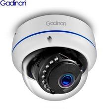 Gadinan 5MP 3MP 2MP H.265 IP กล้อง Sucurity IR Night Video Vandal proof กลางแจ้งกล้องวงจรปิดกล้องโดม DC 12V/48V POE