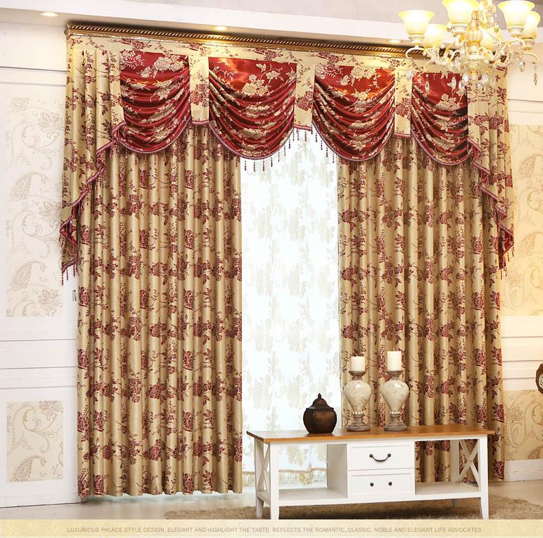 de alto grado contrajo tipo europa cortinas dormitorio para saln comedor cortina cabeza de onda