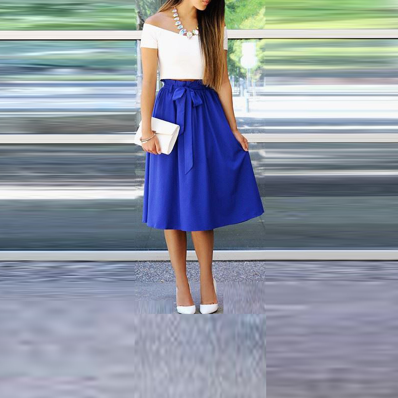 Compare Prices on Royal Blue A Line Skirt- Online Shopping/Buy Low ...