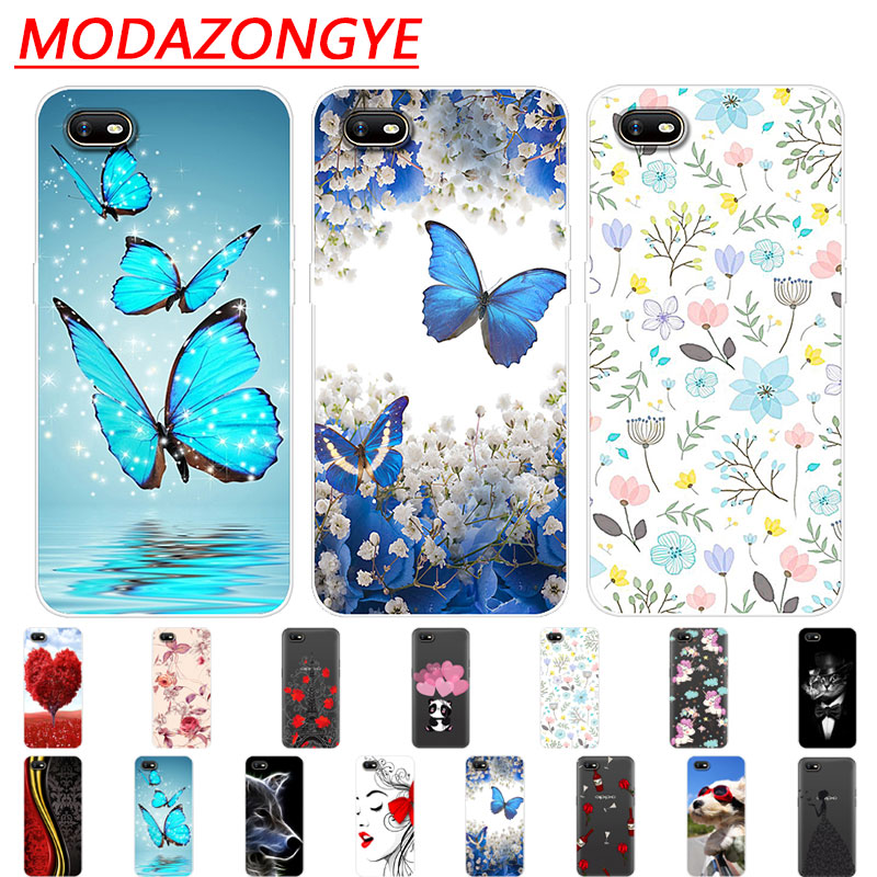 OPPO A1K Case Silicone Back Protective Cover Cartoon Soft TPU Phone Case For OPPO A1K CPH1923  A 1K OPPOA1K Case 6.1 Inch
