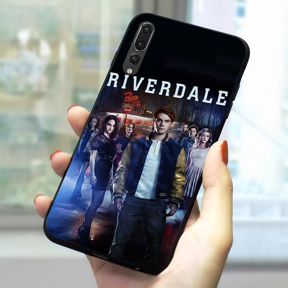 TV <font><b>Riverdale</b></font> Soft TPU <font><b>Case</b></font> for <font><b>Huawei</b></font> P30 Pro Phone Cover for <font><b>Mate</b></font> <font><b>10</b></font> <font><b>Lite</b></font> 20 P Smart 2019 P8 2017 P9 Mini P10 2018 P20 Silicone image