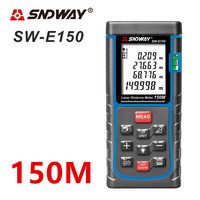 SNDWAY 150m 120m 100m 70m 50m Laser Rangefinder Digital Laser Distance Meter Roulette Laser range finder tape measurer ruler Ft