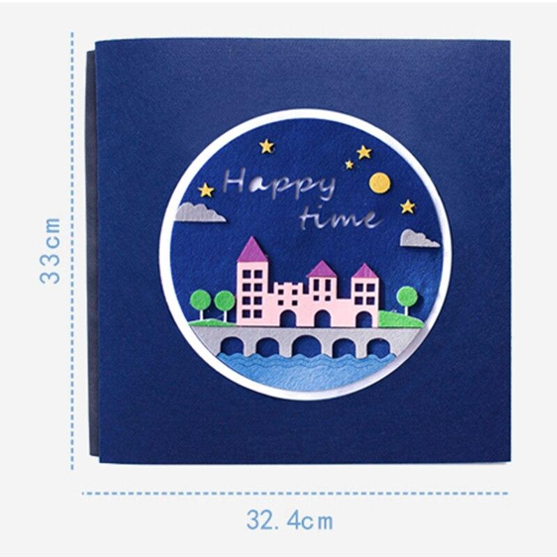Album de Photos auto-adhésif bricolage disques de grossesse de la mère Notes de femmes mémoire de famille créative cadeaux faits à la main pour mariage amoureux