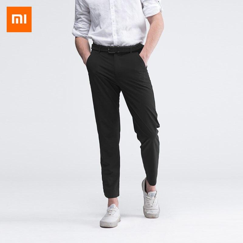 Xiaomi Mijia youpin hombres ligero, de secado rápido pantalones de cuatro de material de algodón de la absorción de humedad y rápido de secado-in control remoto inteligente from Productos electrónicos    1