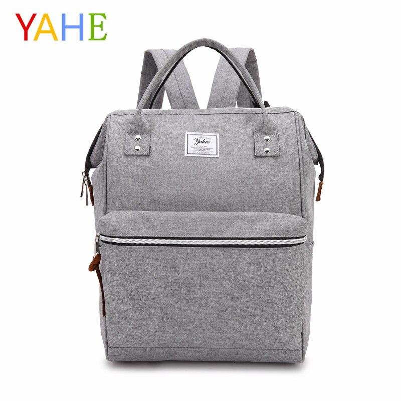 YaHe 2018 Fashion Men Women Oxford Backpacks School Bags for Teenagers Boys Girls Large Capacity Laptop Backpack Mens Backpacks