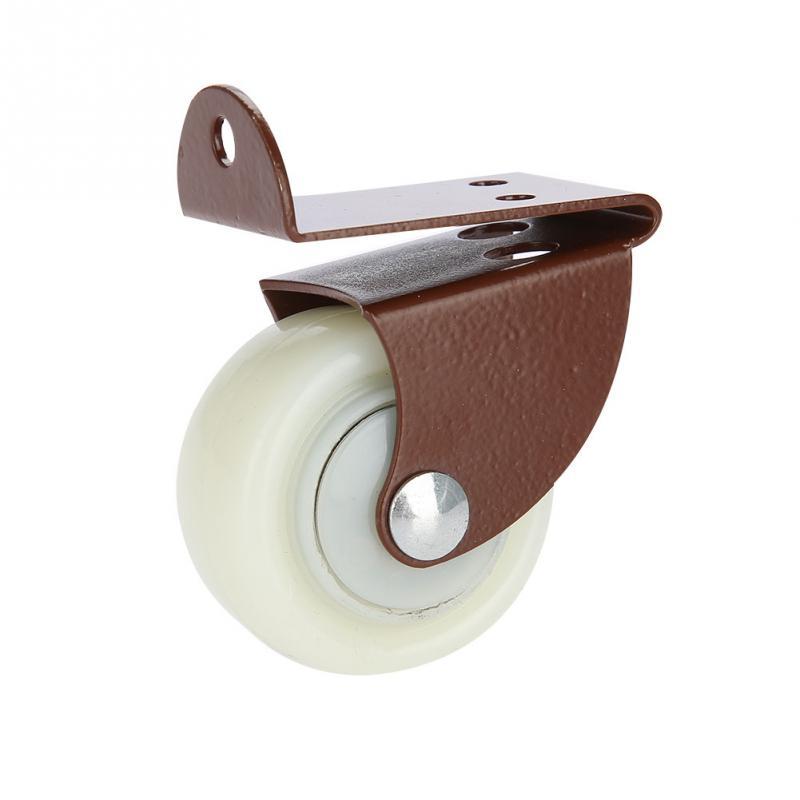 Weiß Ersatz Stuhl Swivel Caster Pvc Rad Für Möbel Stuhl Schreibtisch Trolley Zubehör Freigabepreis Gesundheitsversorgung