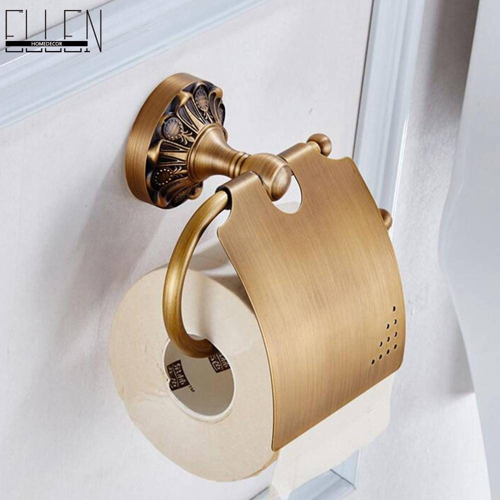 Bathroom accessories wall mounted toilet paper holder antique bronze 80486 - Bathroom accessories toilet paper holders ...