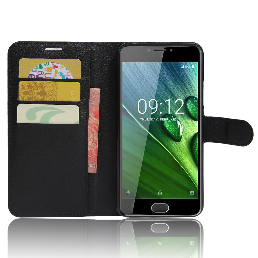 YINGHUI For Acer Liquid Z6 plus Case Wallet PU Leather Flip Case For Acer Liquid Z6 plus 5.5 Phone Case Back Cover Funda Bags