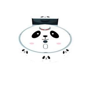 Image 3 - مكنسة كهربائية روبوتية ملصق لطيف ل شاومي 1S روبوت مكنسة كهربائية فيلم واقية ملصقا ورقة نظافة أجزاء الملحقات