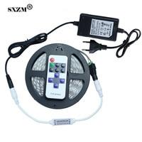 SXZM 5050หรี่แสงได้DC12VนำแถบNonwaterproofกับ12V3Aแหล่งจ่ายไฟRFควบคุมledไร้สายสำหรับห้องครัวแสงในร่ม