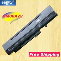 HSW Laptop Battery For acer Aspire One A110 A150 ZG5 UM08A31 UM08A71 UM08A72 UM08A73 UM08B74 zg5 zg8 kav10 11.1v 6Cells