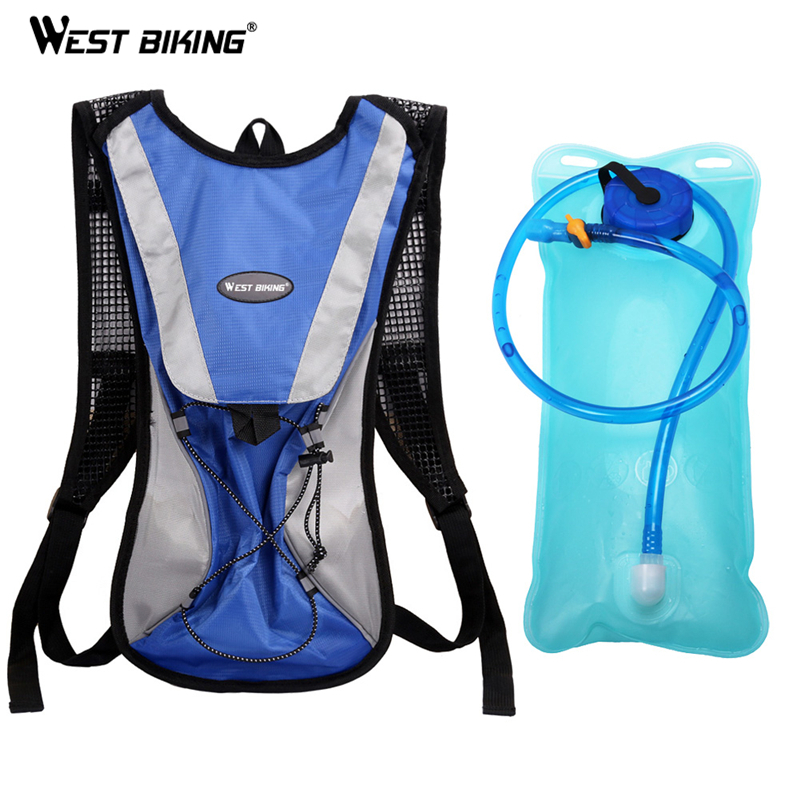 West Biking 2 L Portable Water Bag Cycling Backpack Wide