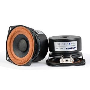 Image 1 - AIYIMA 2Pcs 2.5inch 15W Audio Portable Speakers 4Ohm 8Ohm  Full Range Hifi Bass Mini Speaker DIY For Home Theater