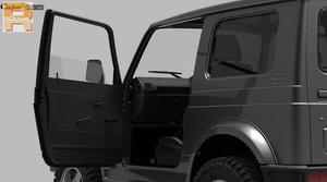 Image 3 - RC car Capo sixer1 kit crawler 스즈키 지미 사무라이 1/6 크롤러 완전 금속 무료 배송