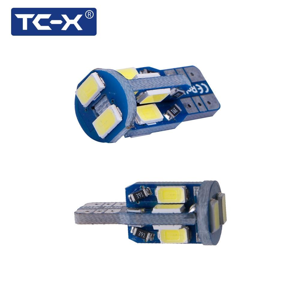 TC-X Canbus W5W T10 Señal LED Luces traseras de la lámpara para - Luces del coche - foto 5