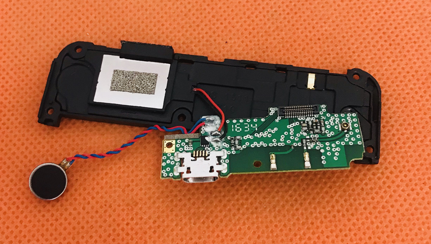 Used Original USB Charger Board+Loud speaker for Homtom HT10 MT6797 Helio X20 Deca Core 5.5 FHD Free Shipping