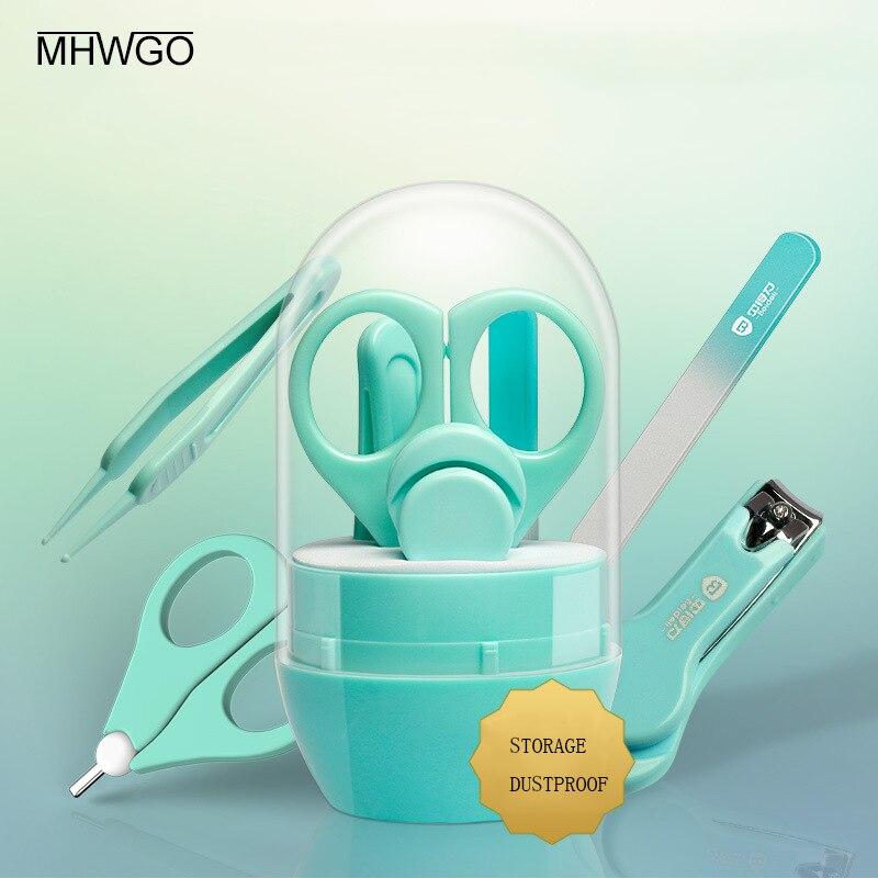 Mhwgo Baby Healthcare Kits Baby Nagel Pflege Set Infant Finger Trimmer Schere Nagel Knipser 4-stück Set Neue Sorten Werden Nacheinander Vorgestellt Babypflege