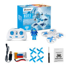 Eachine E011 Mini 2.4G Headless Mode With 60000RPM 716 Coreless Motor Toy Brick RC Quadcopter RTF