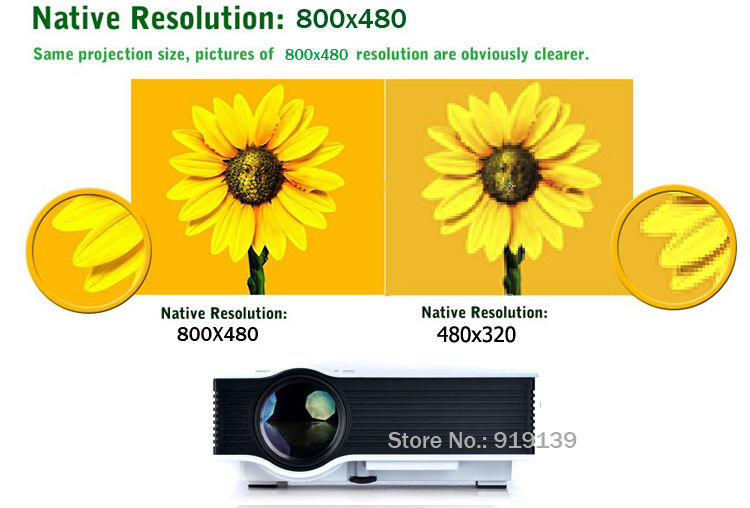 New 40 HD LED Projector pic 10