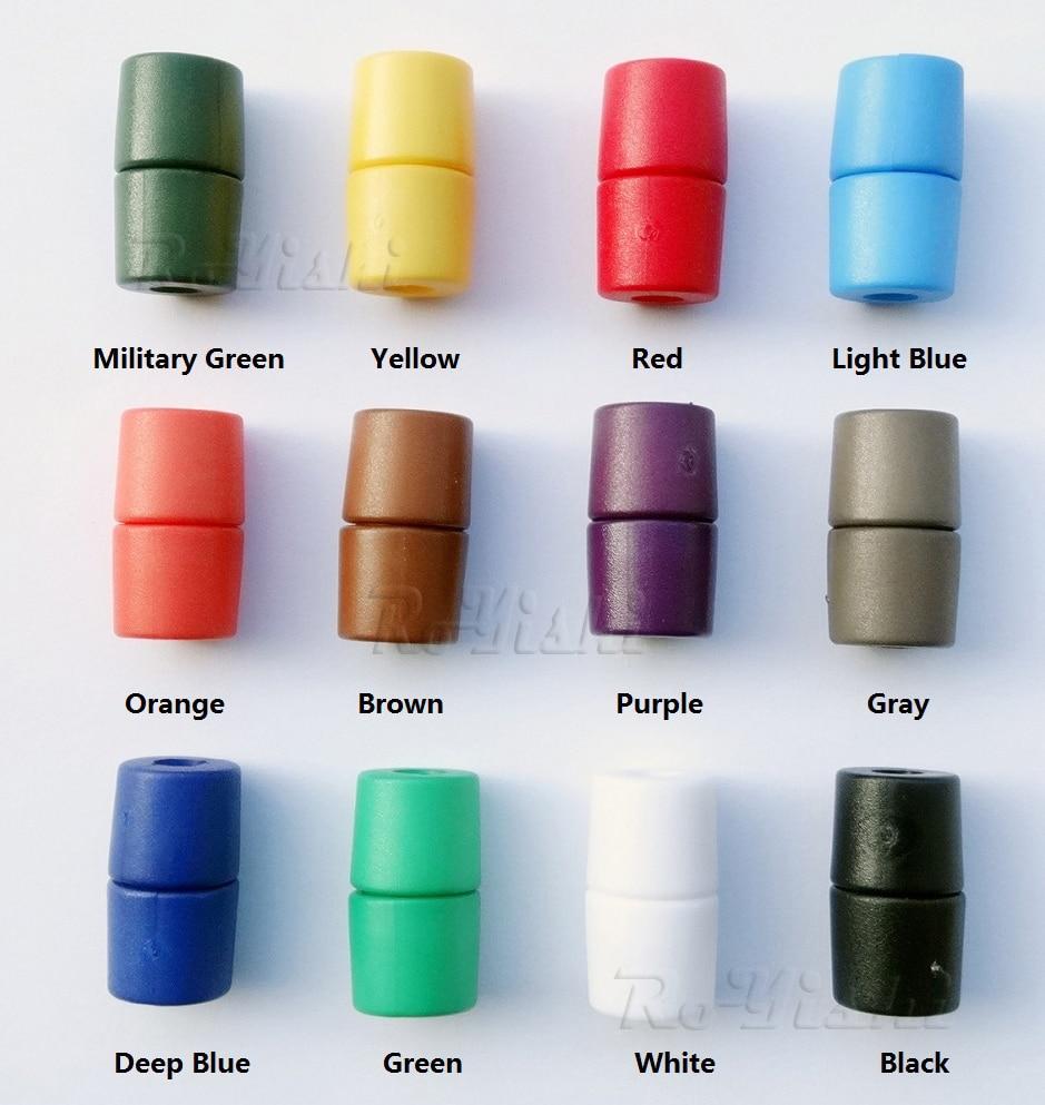 Mix Colors Plastic Lanyard Safety Breakaway Pop Barrel Connectors