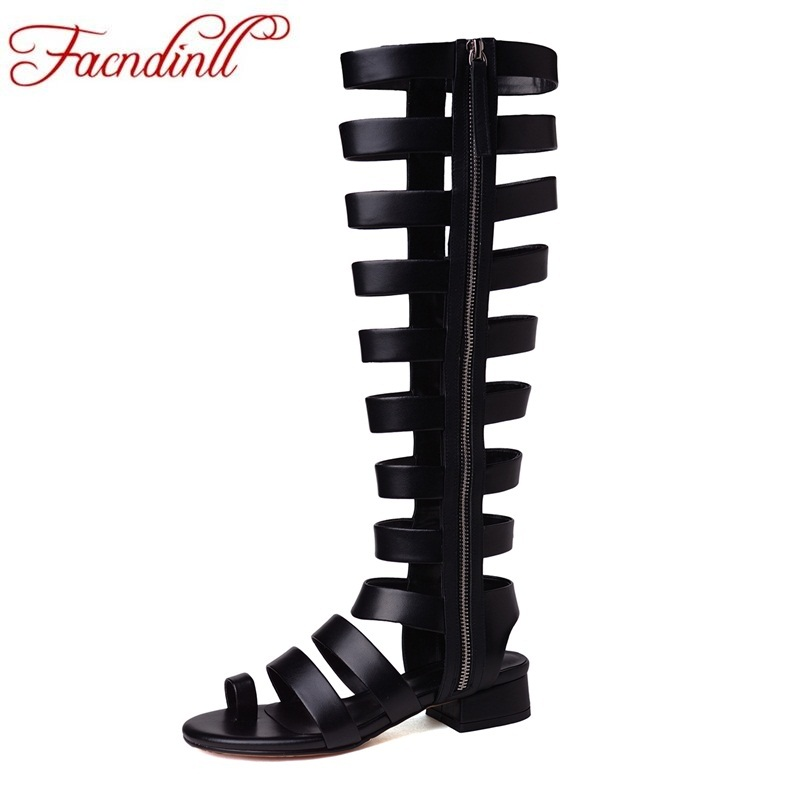 FACNDINLL patent leather summer shoes woman gladiator sandals 2018 new zipper high heels sexy open toe women casual date shoes facndinll fashion summer flat shoes woman platform sandals 2018 new wedges high heels open toe women casual date dress sandals