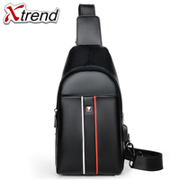 Male Shoulder Bags USB Charging Crossbody Bags Men Anti Theft Chest Bag School Summer Short Trip