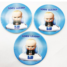 Boss Baby Theme Party Paper Plates Little Birthday Decor Shower Supplies