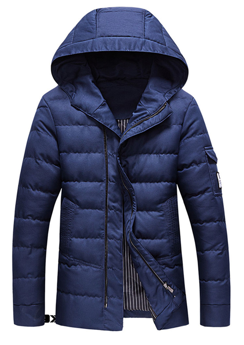 2017 new arrival winter style men high-end cotton coat high quality fashion casual hooded cotton padded jacket large size M-5XL 2016 new arrival men s winter jacket casual slim fit fashion solid hooded man jacket winter warm high quality m 4xl