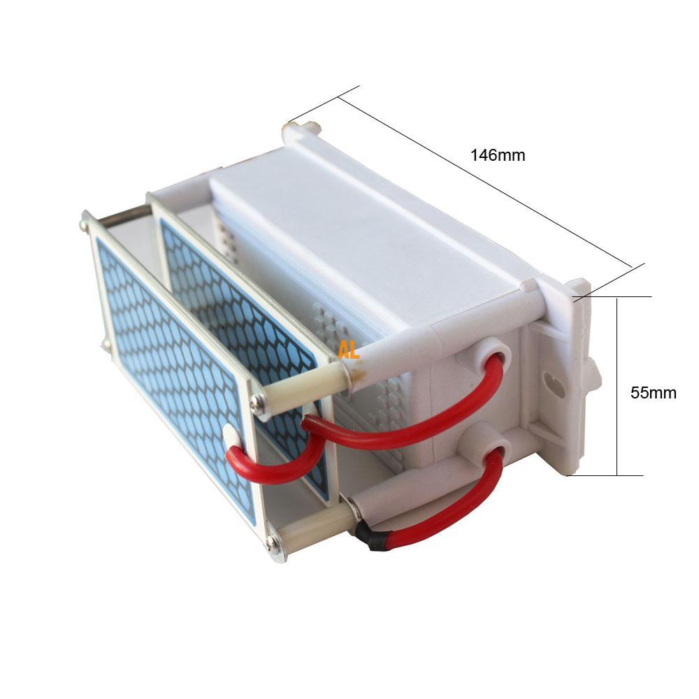 Dropshipping Ozon Generator 10g tragbare Luftreiniger Keramik plateLong Lebensdauer Keramik Platte Ozonisator Luft Desinfektor