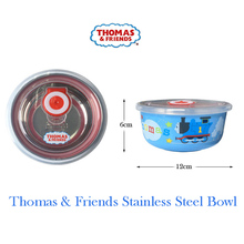 Thomas childrens bowl tableware stainless steel small sealed children cartoon food container