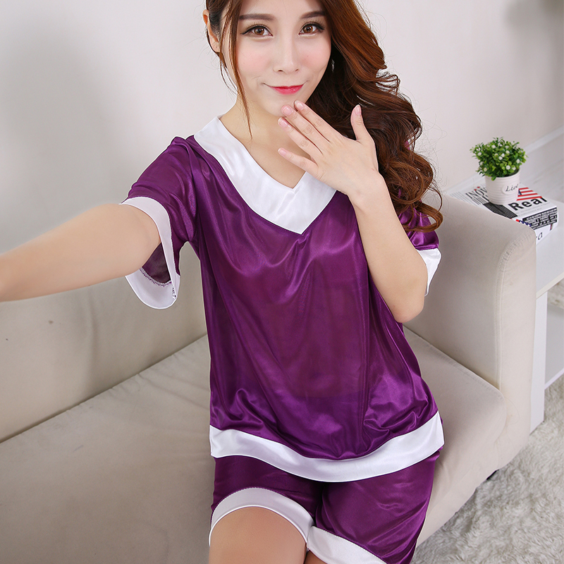2017 Hot Sales Womens Pajamas Lace Women Pajamas Set Clothing for Women  Homewear Indoor Clothing Lady lovely Cute pajamas a6ef525f4
