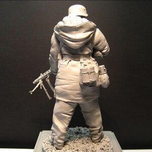Image 2 - Kits de modèle en résine de figurine 1:16 pour soldats non peints et non assemblés, 88G