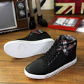 Autumn men boots 2015 warm men's casual canvas shoes high top boots for men botas size 39-44