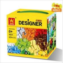 625 Pcs Building Blocks City DIY Creative Bricks Toys For Child Educational Wange Building Block Bricks
