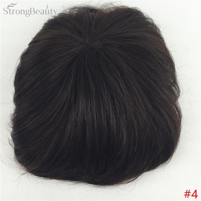 Сильная красота парик синтетические волосы парик выпадение волос топ кусок парики 36 цветов на выбор - Цвет: #4