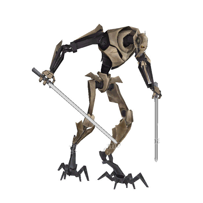 Star Wars General Grievous Toys : Paper model star wars general grievous gen