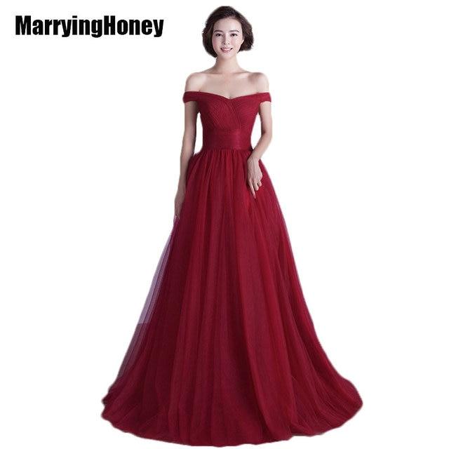 Boat Neck Evening Dresses Plus Size Long Prom Sweet 16 Dress Women