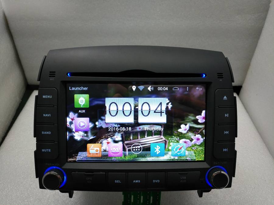 2 DIN Car Radio Audio DVD Multimedia Player Android 6.0 s