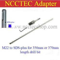 [Dla 350mm lub 370mm długość diamentowe wiertła rdzeniowe] złącze adaptera SDS-PLUS do M22 dla wiertarka elektryczna darmowa wysyłka