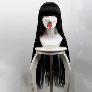 Image 5 - Anime Kakegurui Compulsive Gambler Cosplay Wigs Ririka Momobami Runa Yomozuki Mary Saotome Yumeko Jabami Cosplay Synthetic Wigs