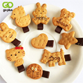 GOPLUS 2017 Scrunchy Girls Baby Cute Biscuit Cartoon Shape Hair Clip Simulation Animal Cookie Biscuit Headwear Rope Accessory