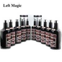 Multiplier les bouteilles 10 bouteilles noir (liquide versé) tour de magie étape accessoires magiques gros plan mentalisme Illusion jouet classique