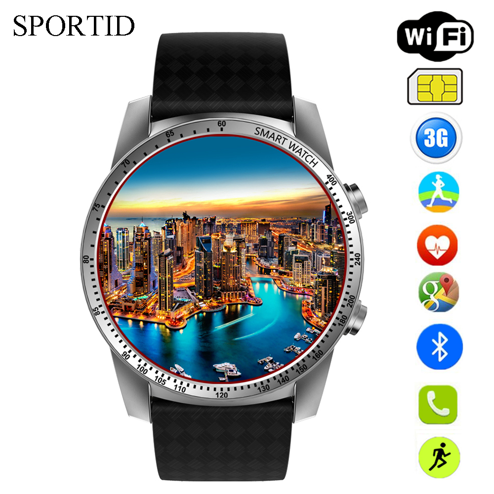 KW99 Smart Watch Men GPS Sports Watches Women Heart Rate Monitor 3G WiFi Android 5.1 OS MTK6580 Quad Core SIM Card Smartwatch smart baby watch q60s детские часы с gps голубые